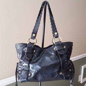 EUC Kooba Sienna black leather bag